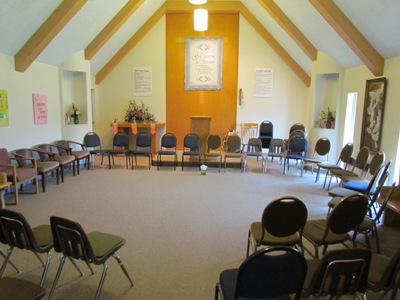 Chapel at the Utah retreat house