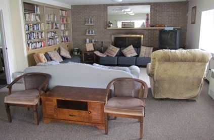 womens retreat dayroom